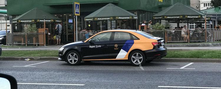 Каршеринг Яндекс Драйв автопарк